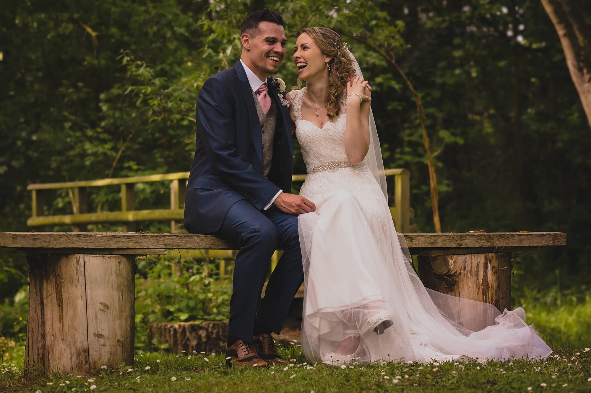 Ash and Nicky at Chris Denner Wedding Photography